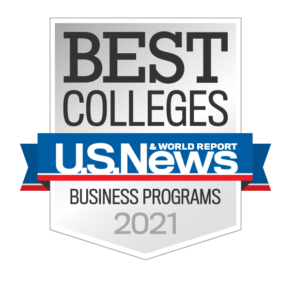 US News Best Colleges Business Logo