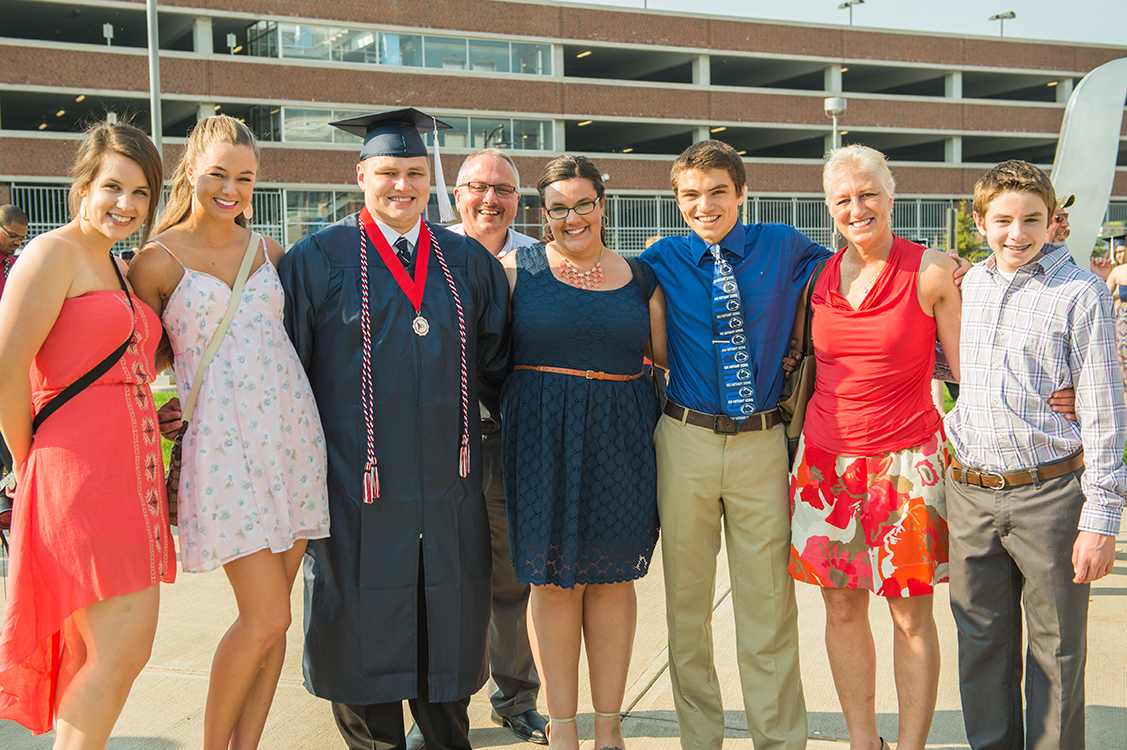 Commencement family