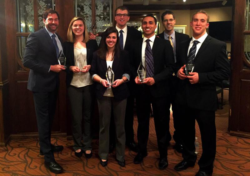 Accounting and Finance Majors Competed in Investment Research Challenge