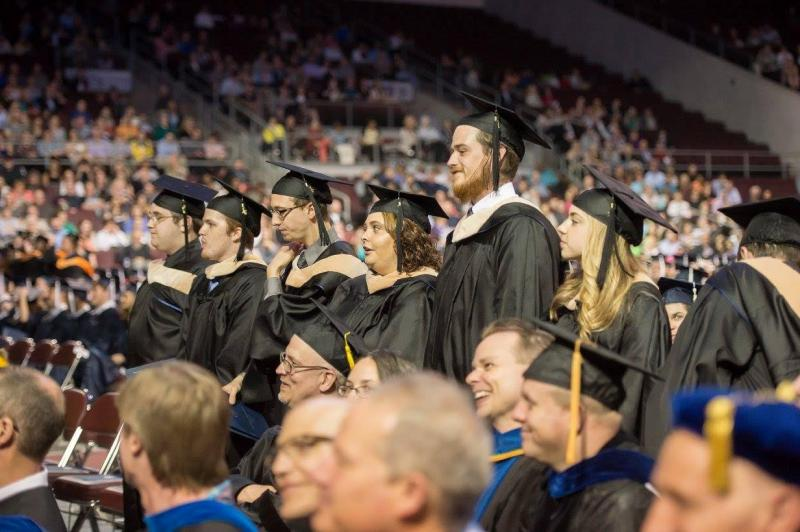 The First Class Graduates from the Master of Professional Accounting Program