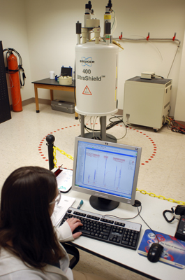 Nuclear Magnetic Resonance Spectrometer Lab