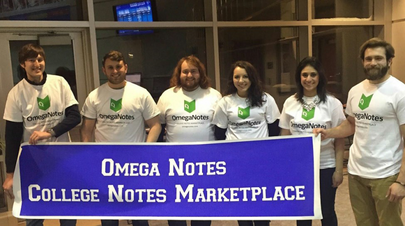 Omega notes launch party