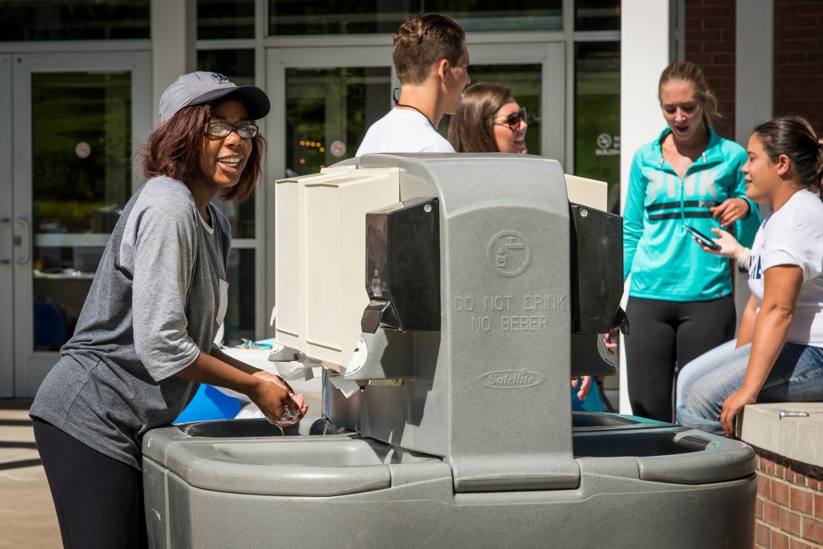 The 'We Are... Healthy' campaign was held Sept. 15 at Penn State Behrend.