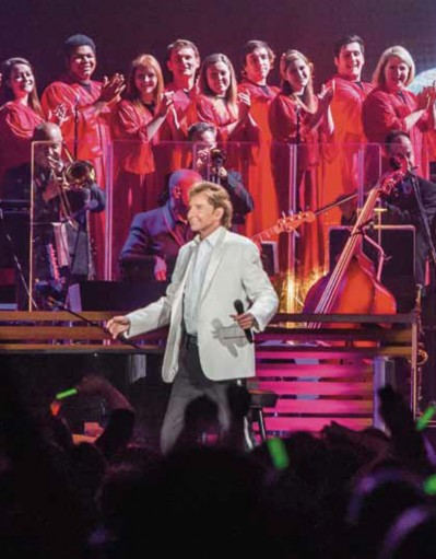 Behrend choirs perform with Barry Manilow