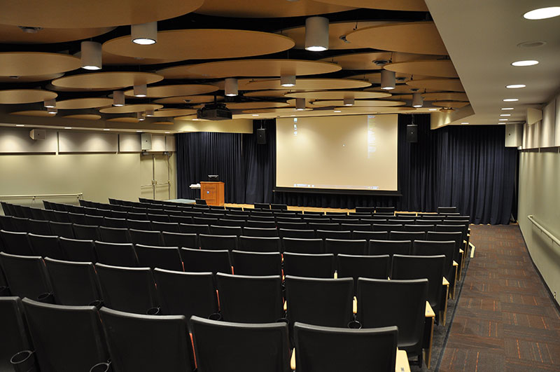 Reed Auditorium after renovation