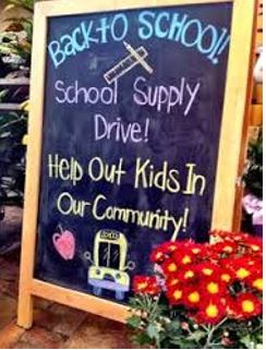 Back to School School Supply Drive