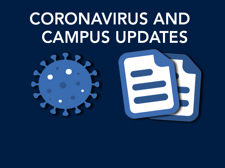 coronavirus and campus updates
