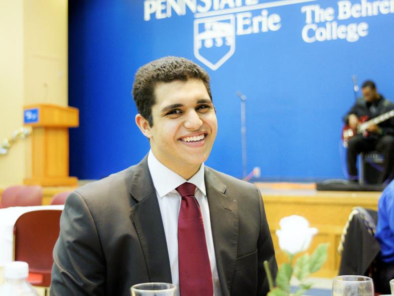 Moustafa Elhadary pictured.