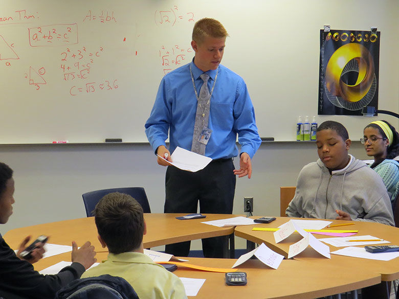 Penn State Behrend Secondary Education in Mathematics student gets classroom experience