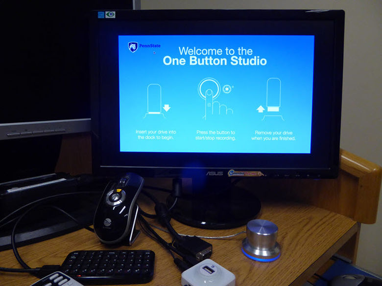 OneButton Studio in Library.