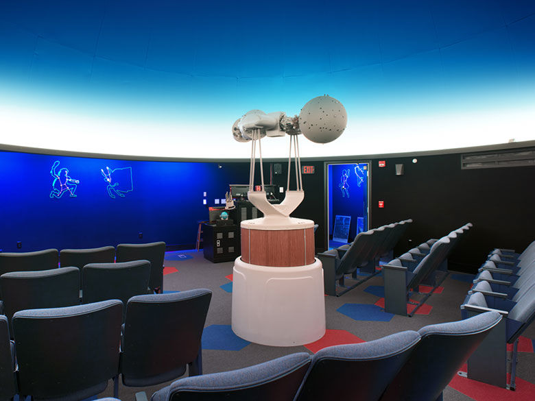 The Yahn Planetarium at Penn State Behrend is one of many outreach programs offered by the college.