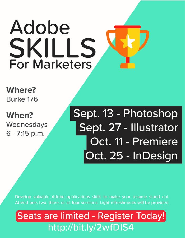 Adobe Skills for Marketers classes