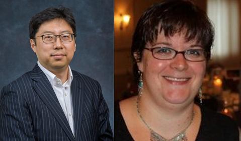 Dr. Hyunwoo Lim and Mrs. Alice Puzarowski