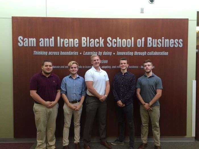 Financial Planning Officers  From left, Tim Hess, Kristopher Knorr, Jason Pettner, Vilyamir Kolesnichenko, and Brady Maximovich