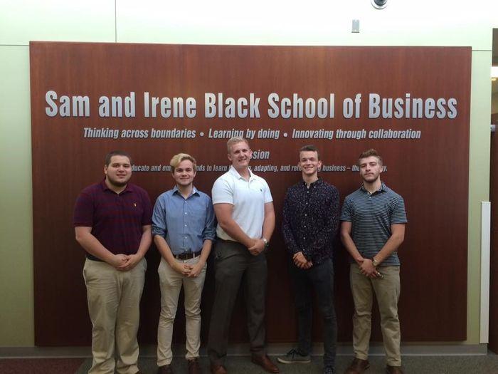 Financial Planning Officers  From left, Tim Hess, Kristopher Knorr, Jason Pettner, Vilyamir Kolesnichenko, and Brady Maximovich