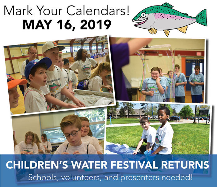 The Children's Water Festival will return Thursday, May 16, to Penn State Behrend.