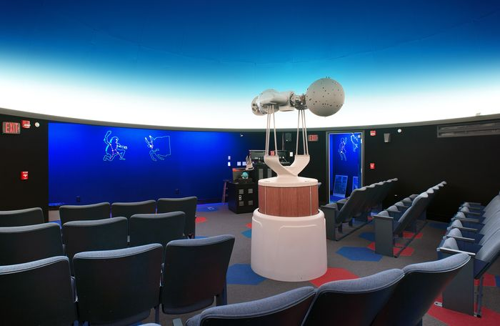 Yahn Planetarium pictured.