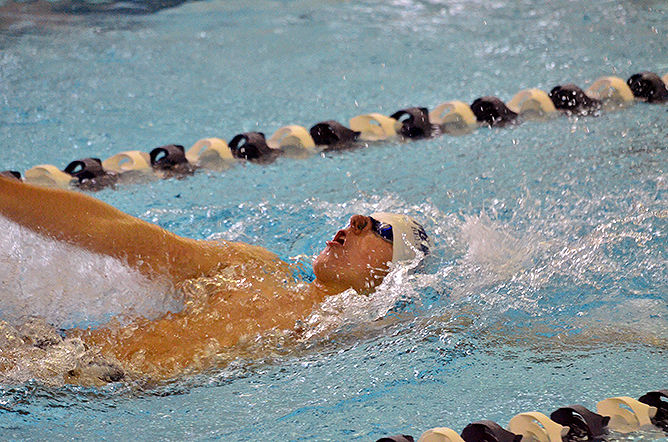 Penn State Behrend swimmer Mark Patterson