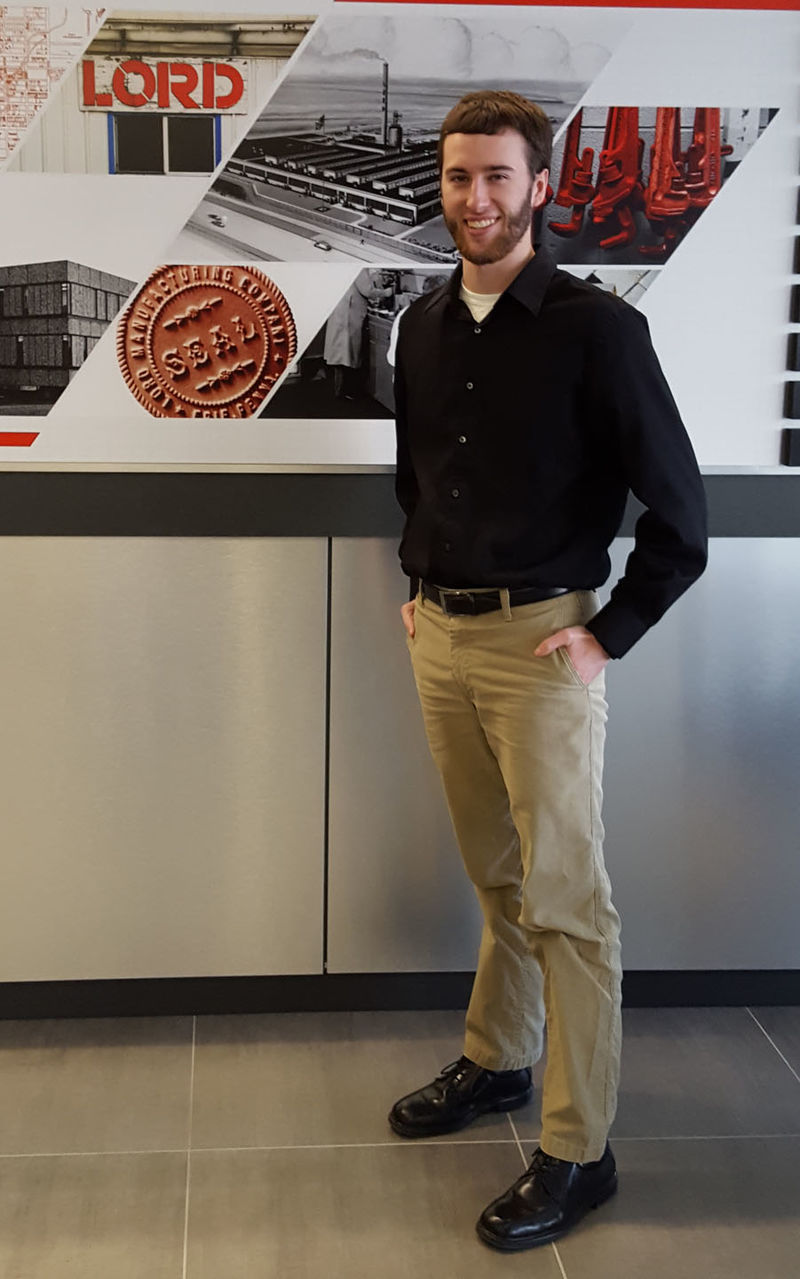 Andrew Heitzenrater at LORD Corporation.