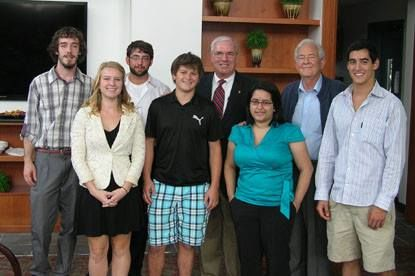 The Behrend Political Society, College Republicans, and College Democrats co-sponsored two days of a Congress to Campus event in September 2012