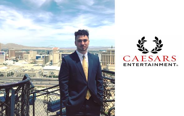 Zachary Mitchell '18  internship with Caesars Entertainment.