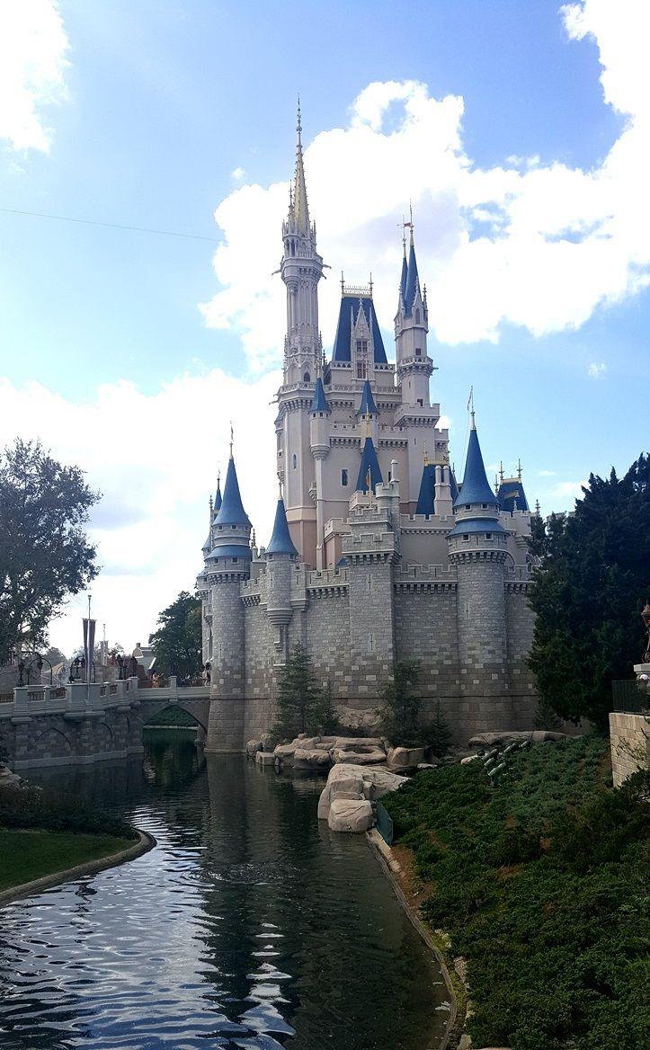 Disney Castle pictured.