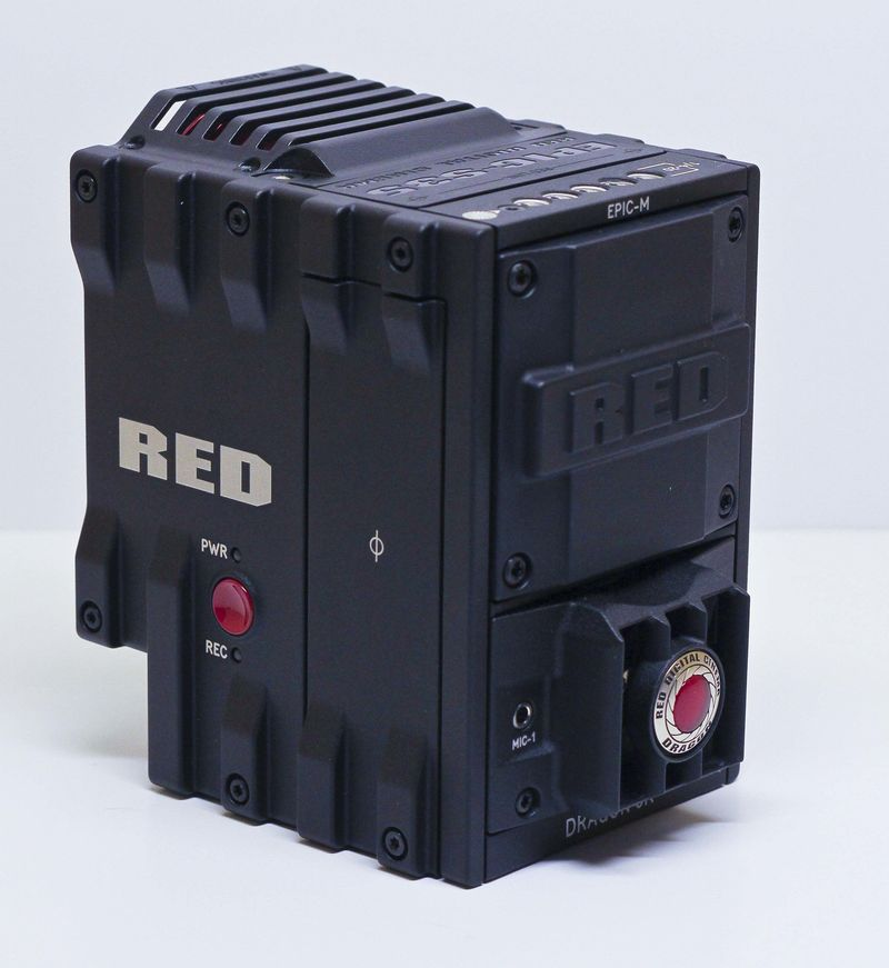 Red Camera pictured.