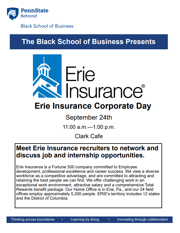 Erie Insurance Corporate Day