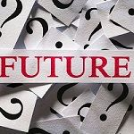 Image with the word Future and question marks