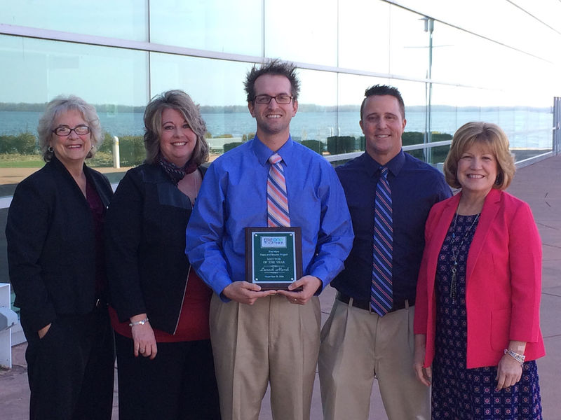 CORE recognizes mentors with awards.