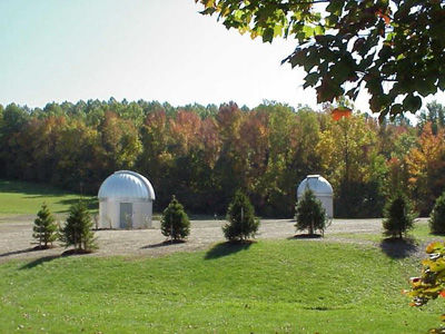 Mehalso Observatory in the fall