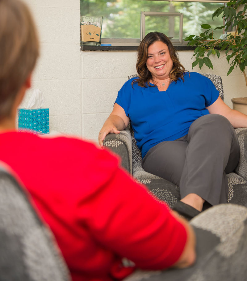 Nicole Lowry, assistant director and counselor in the Personal Counseling Office.