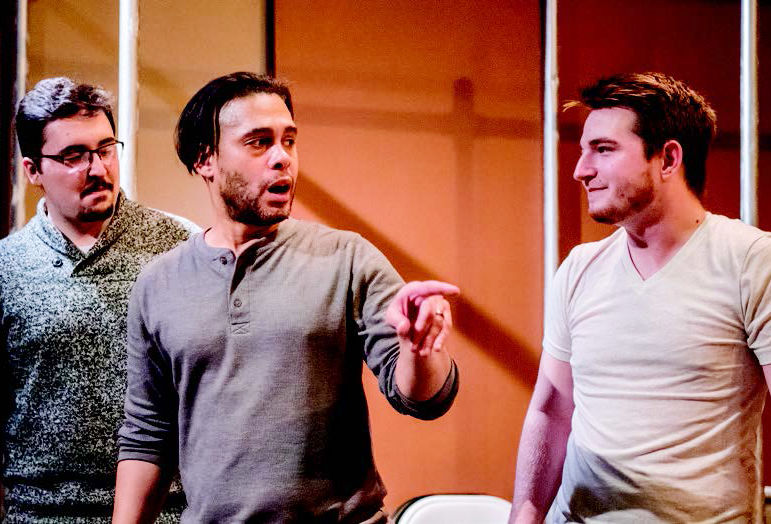 Wilson Jermaine Heredia, the actor who portrayed Angel in RENT's original Broadway run visited Penn State Behrend