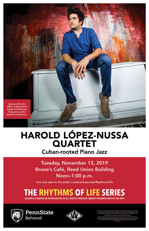 Harold López-Nussa Quartet poster