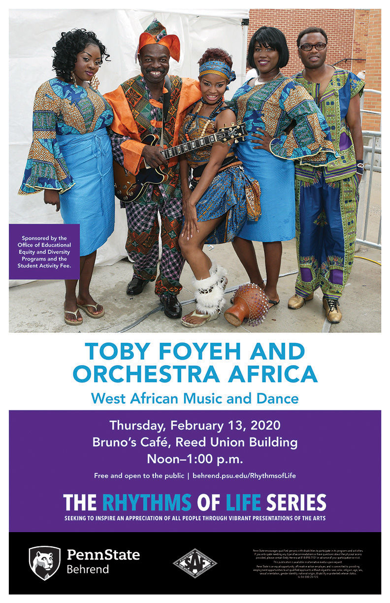 Toby Foyeh and Orchestra Africa poster