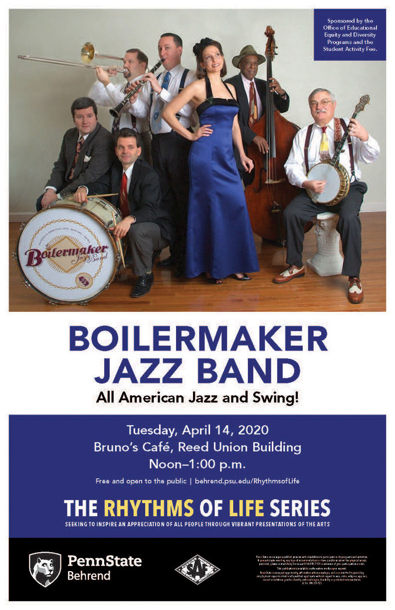 Boilermaker Jazz Band poster