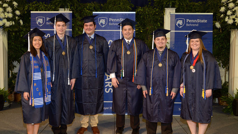 2019 Behrend Schreyer Honors College graduates