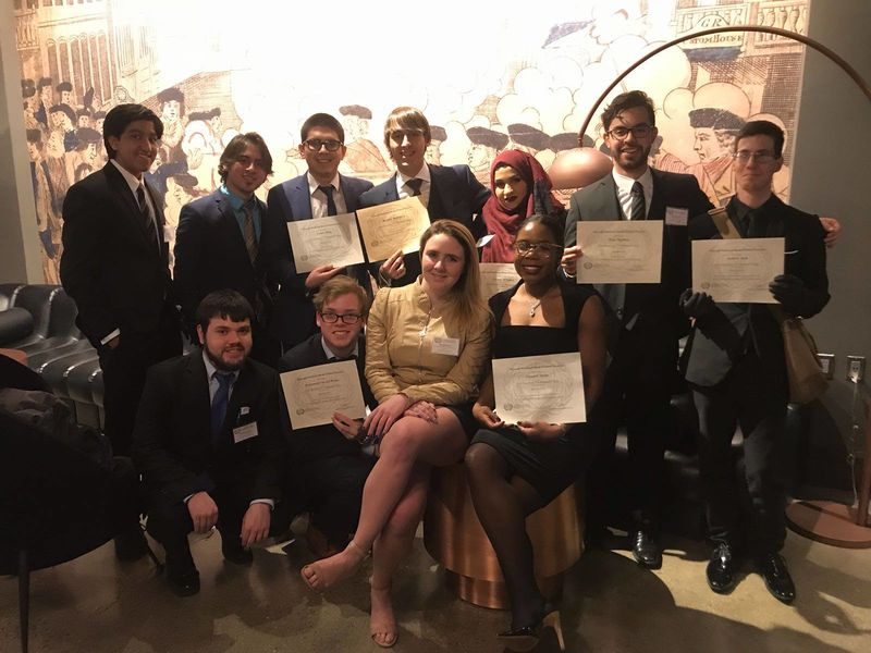 The Penn State Erie Model United Nations chapter represented Bangladesh