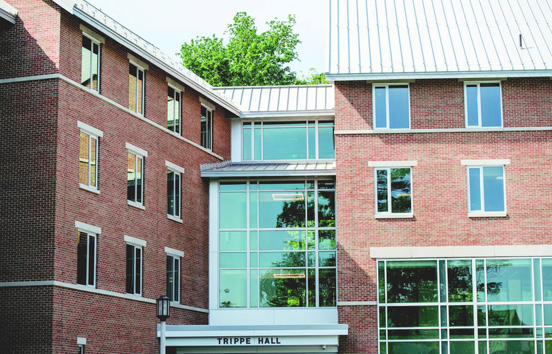 Trippe Hall is Penn State Behrend's newest residence hall
