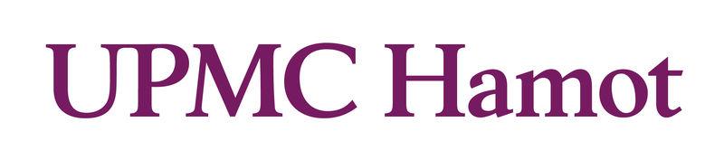 UPMC Hamot logo pictured.