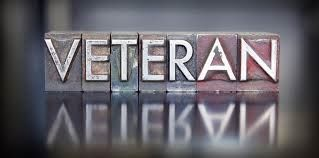 The word Veterans