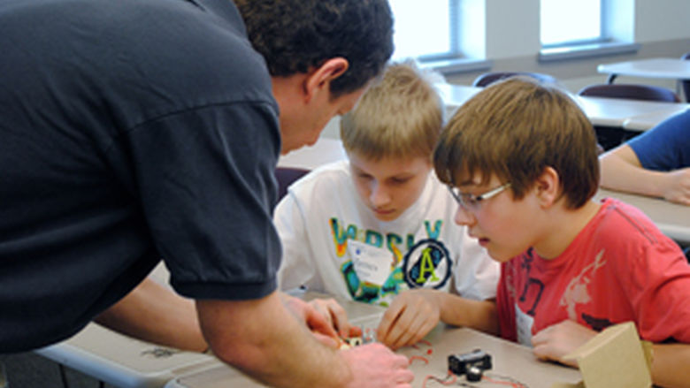 Students participate in 21st Century Kids.