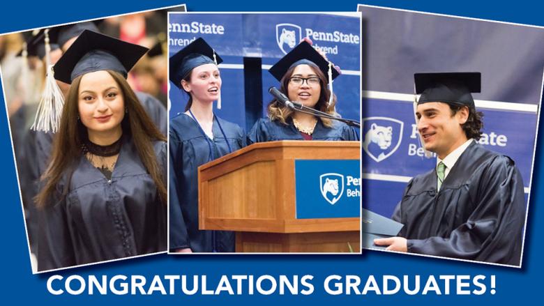 Congratulations to our fall graduates!