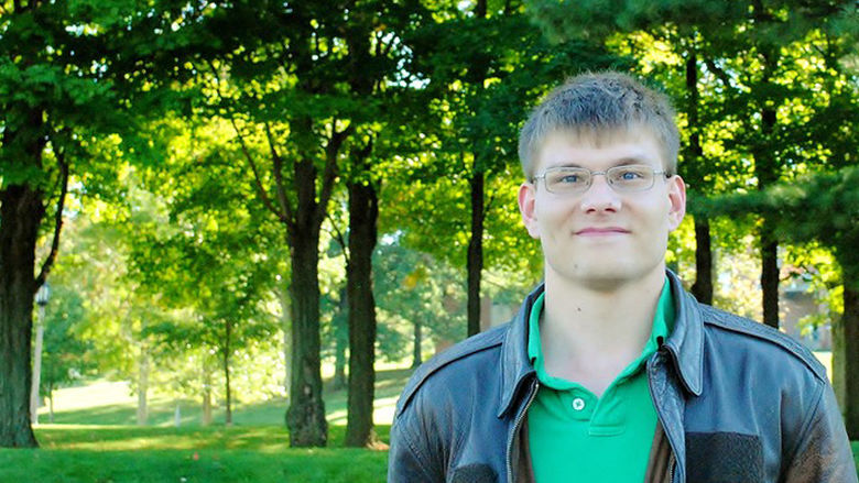 Science Major Uses GIS Technology to Map Erie Arboretum