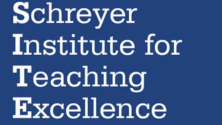 graphic saying Schreyer Institute for Teaching Excellence