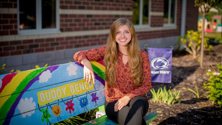 Taylor Morris graduated from Penn State Behrend with a degree in psychology this past May.