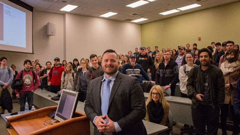 Penn State Behrend alumnus Justin Bloyd '05 is the first Executive in Residence of the Black School of Business.