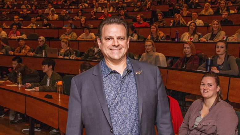 Sprint Region President Mark Nachman boasts more than 20 years of experience in the wireless industry and has been appointed as one of Penn State Behrend's Executives in Residence for the 2017-18 academic year.