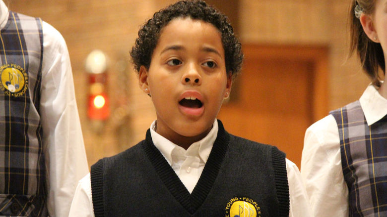 YPC Chorister Markel pictured.