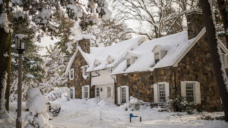 An image of Glenhill Farmhouse at Penn State Behrend